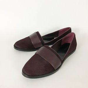 Calf Hair Leather Strap Italian Loafer